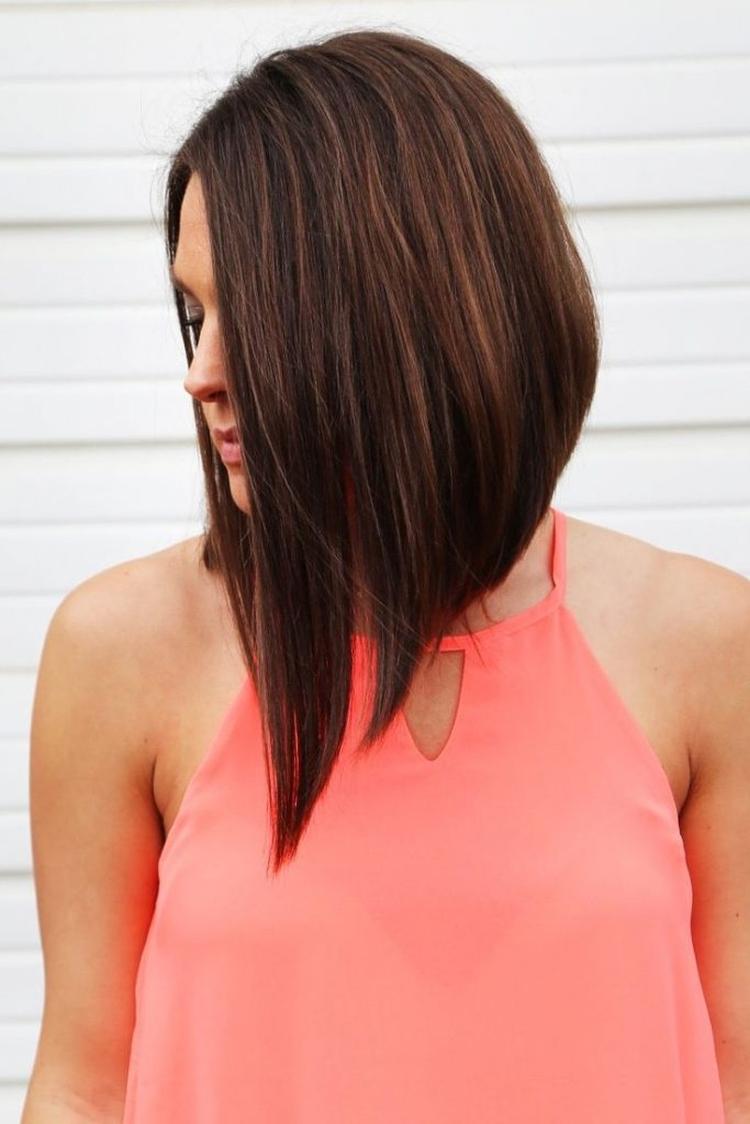 удължено каре за тънка коса