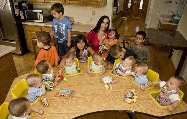 майка на 14 деца