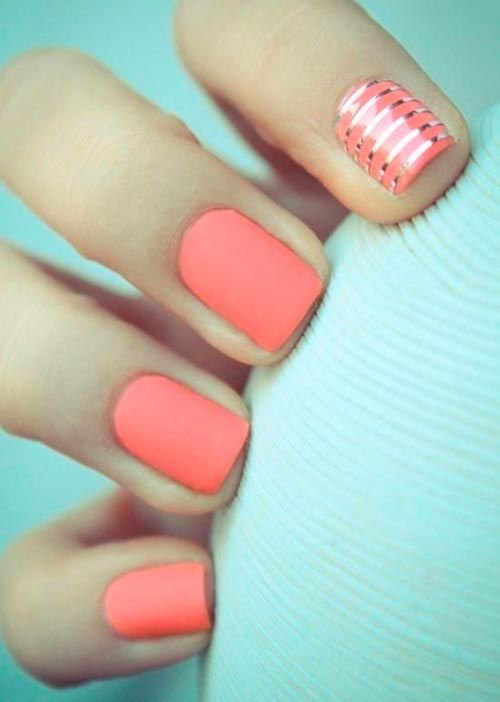 Dramatic Nail Designs For Short Nails #ShortNails:
