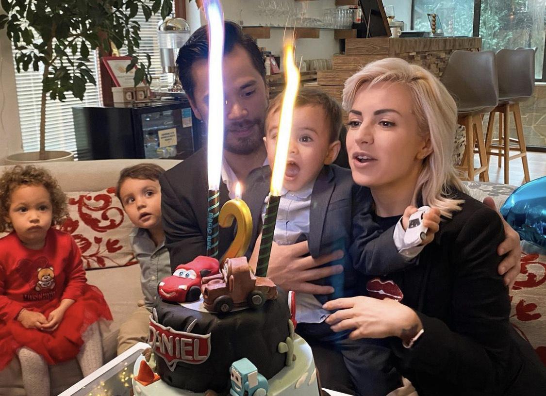 синът на Поли рожден ден