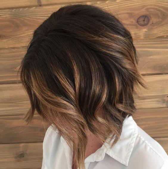 балеаж на къса коса