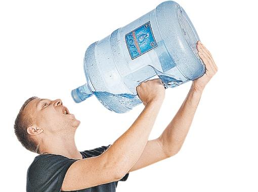 много вода