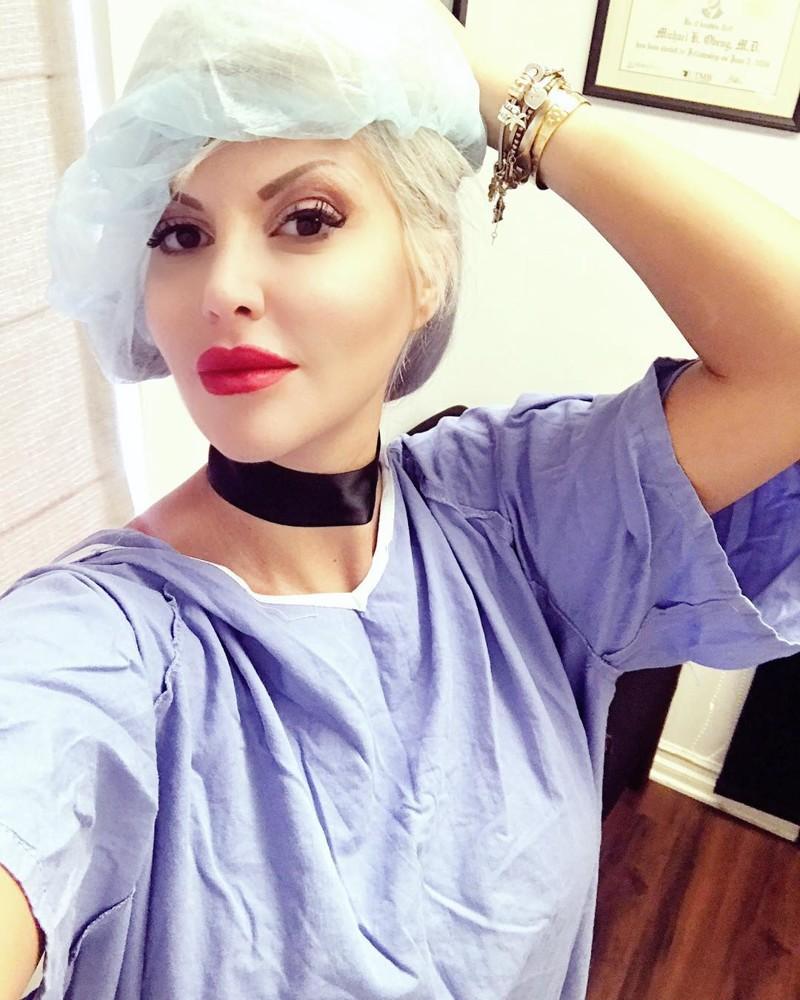 жена в операция