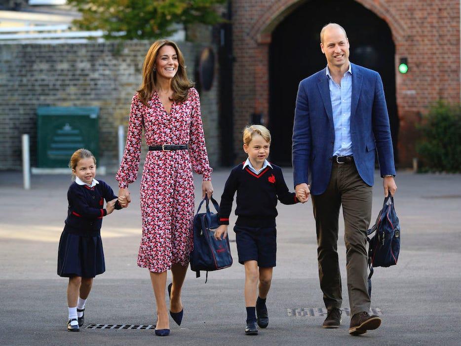 Джордж и Шарлот училище