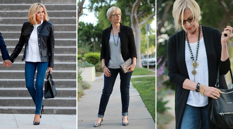 дънки за жени над 50