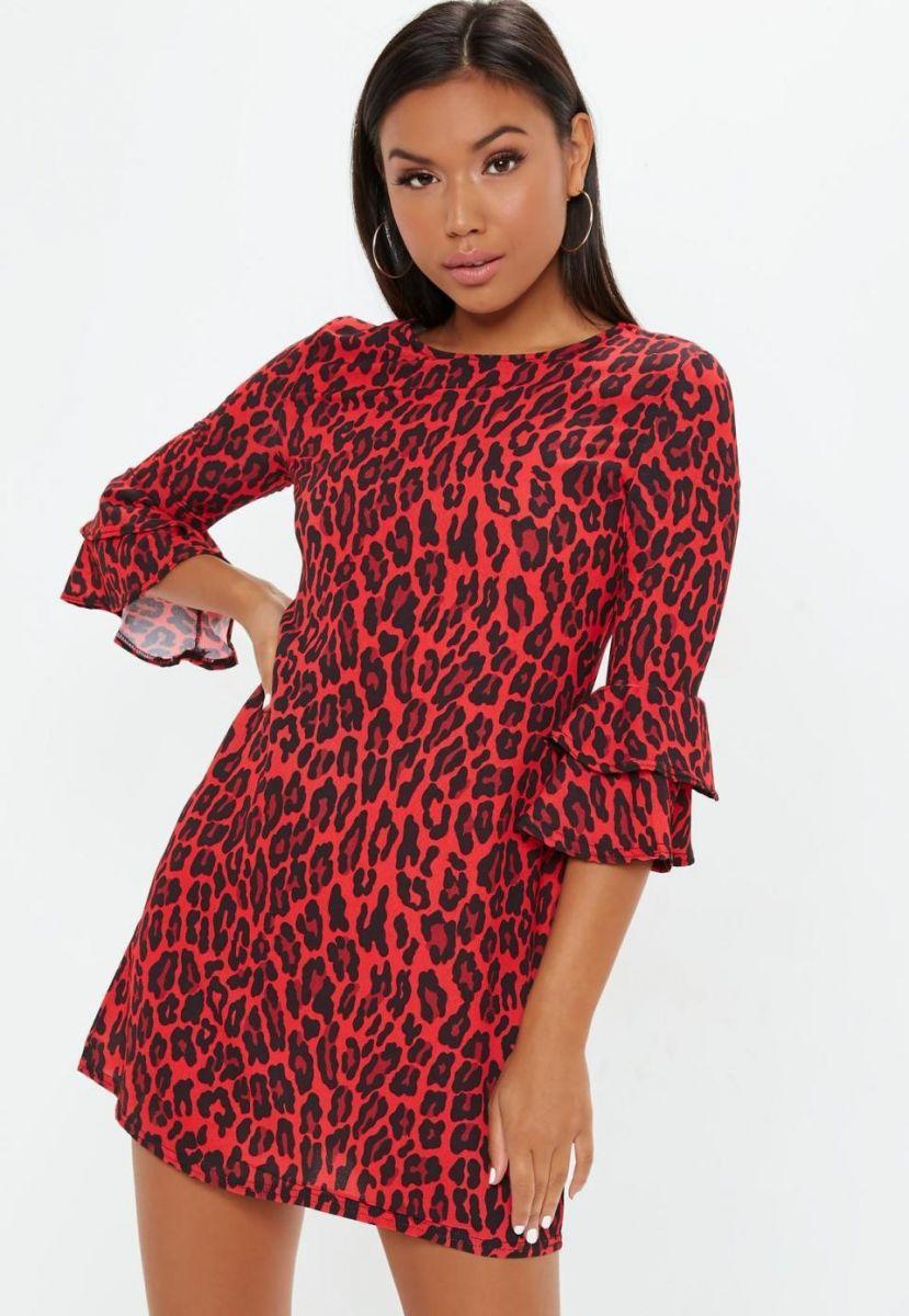 модна рокля за есента на 2018 фотографска цена