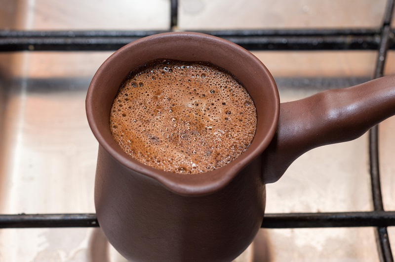 кафе с лимон