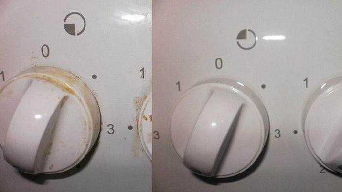 [как да почистите печката от изгоряла мазнина]