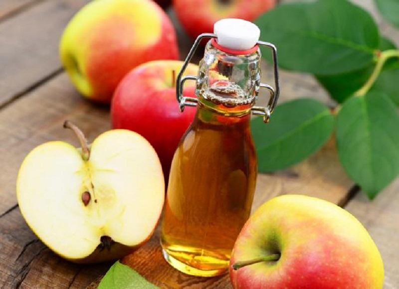 ябълков оцет за косата