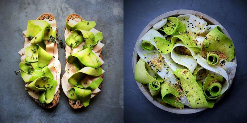 начини за използване на зеленчуков пилинг