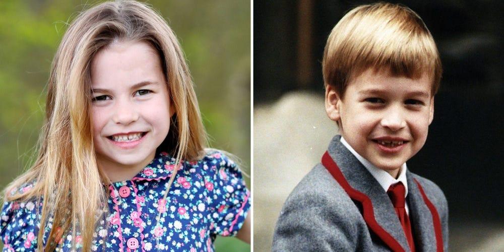 принцеса Шарлот и Уилям