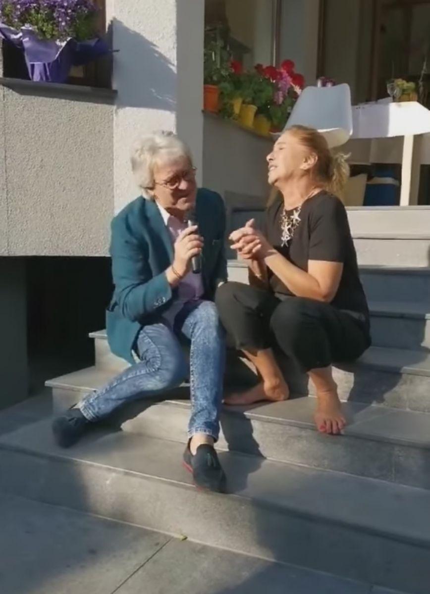 Катето Евро и Орлин Горанов