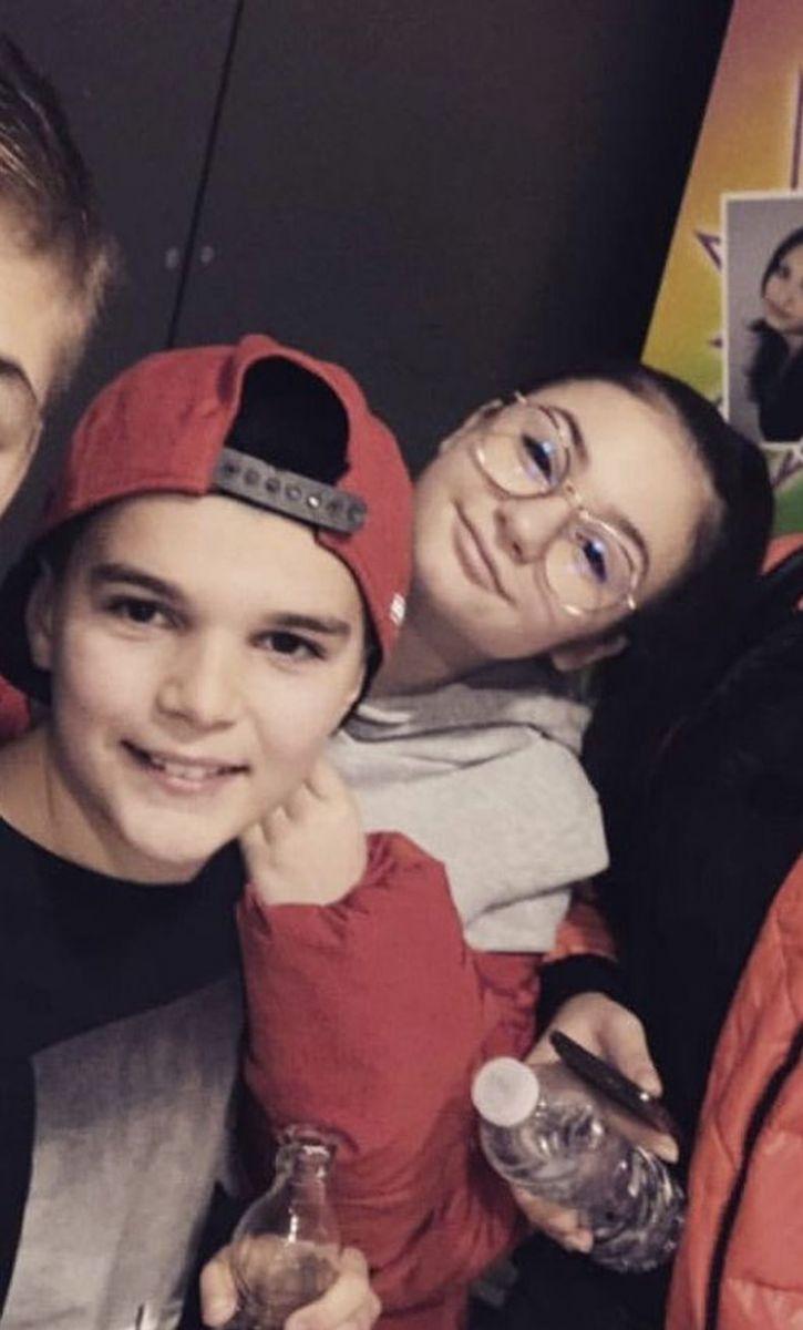 Валери Божинов с Крисия