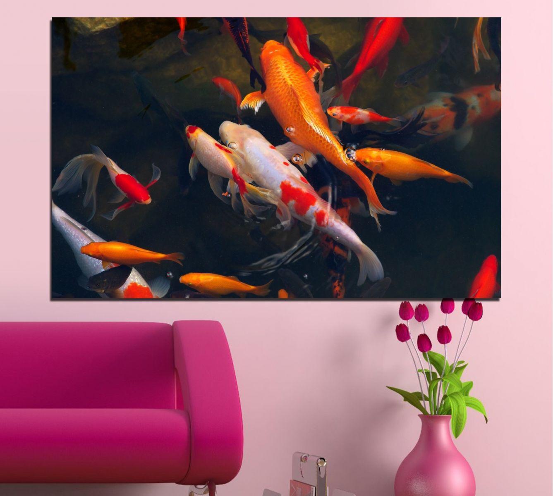 картина с риби