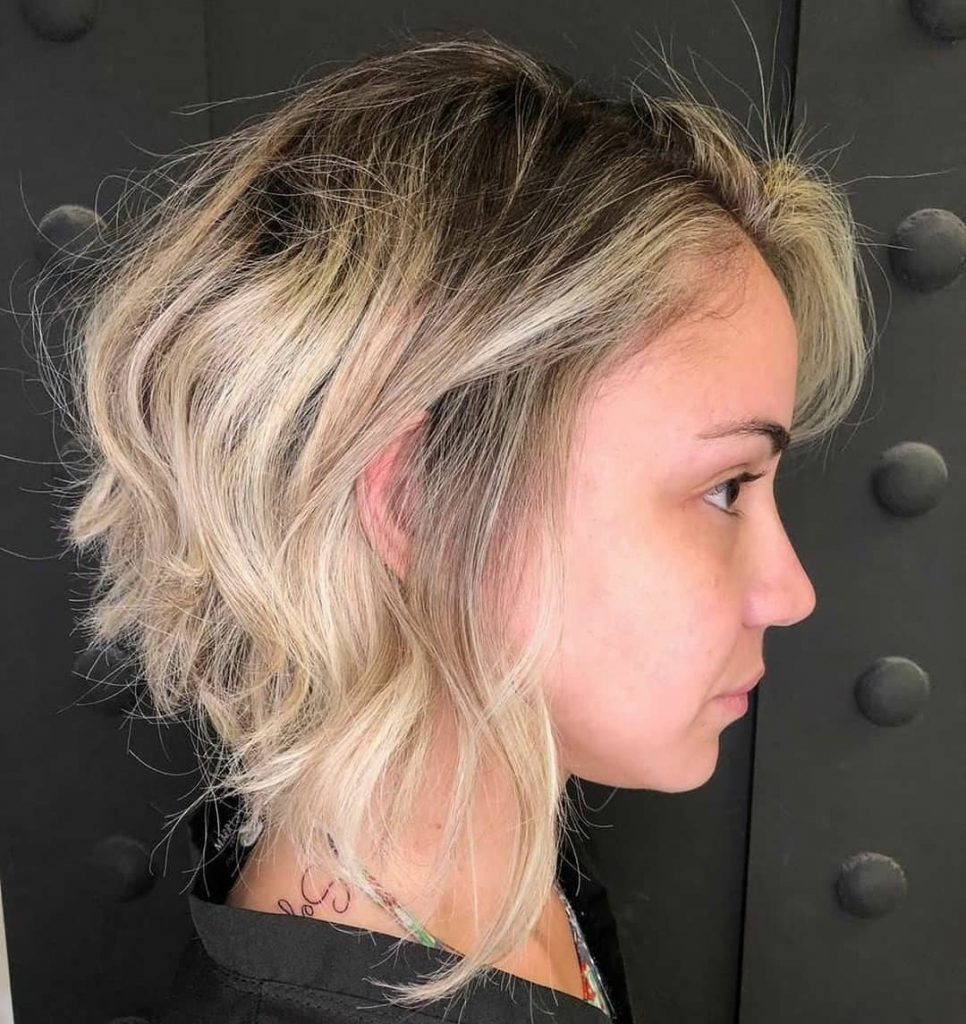 боб на чуплива коса