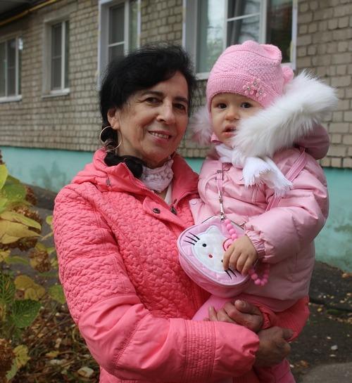 Галина с дъщеря си