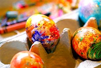 восъчни яйца