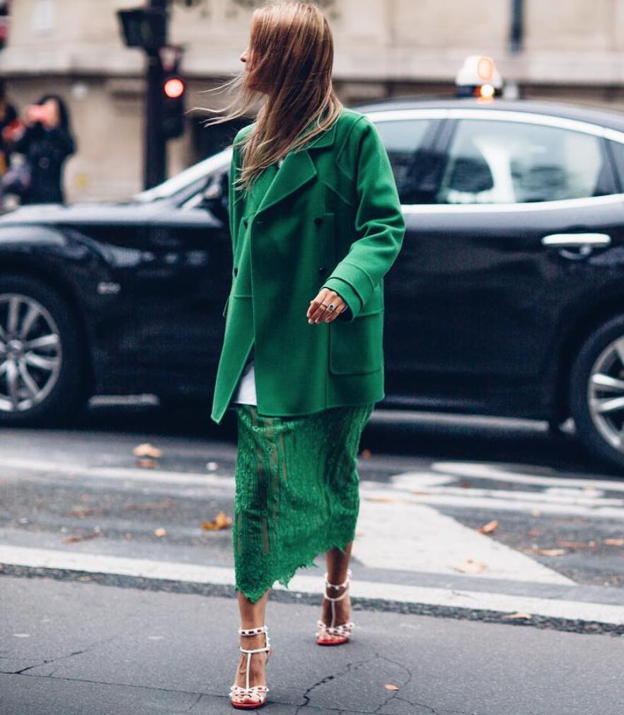 модерен зелен цвят