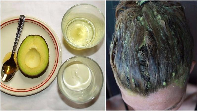 авокадо за коса