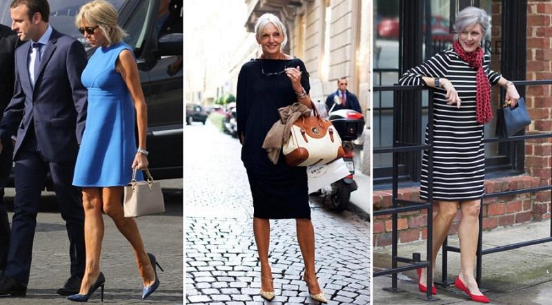 рокли за жени над 50