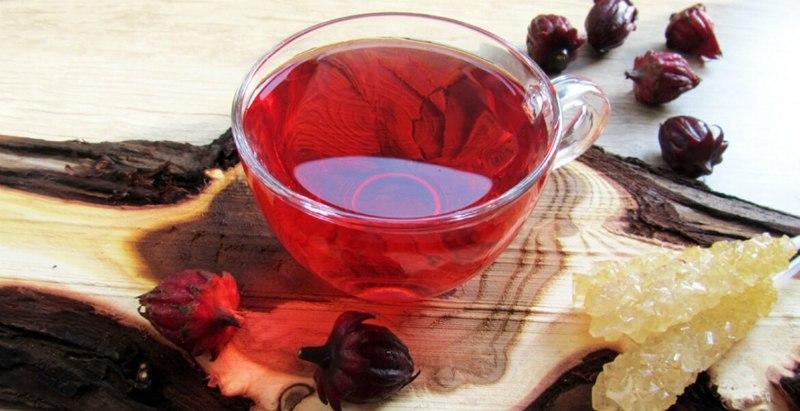 как се прави чай от каркаде