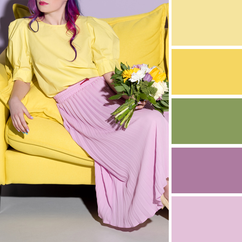 цветовете на 2019