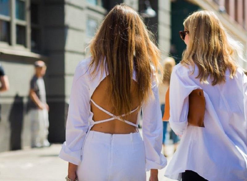 бели дрехи