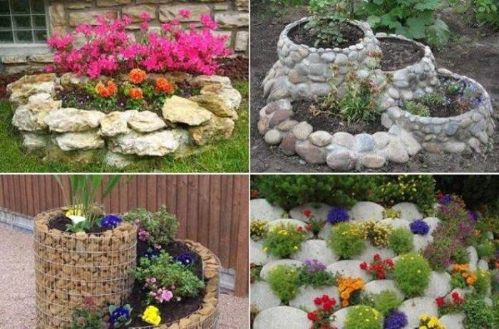 идеи за градина с камъни