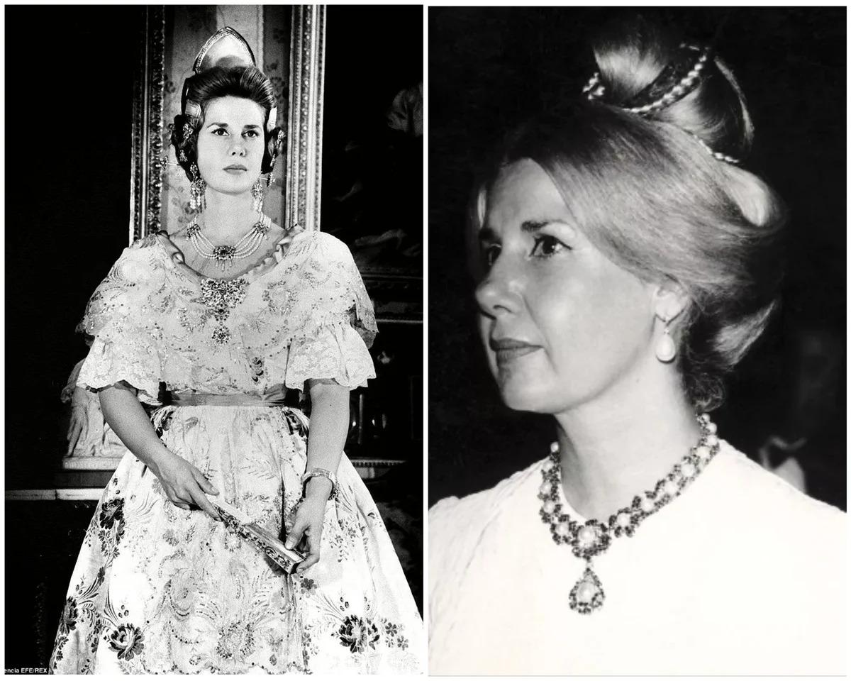 херцогиня Алба млада