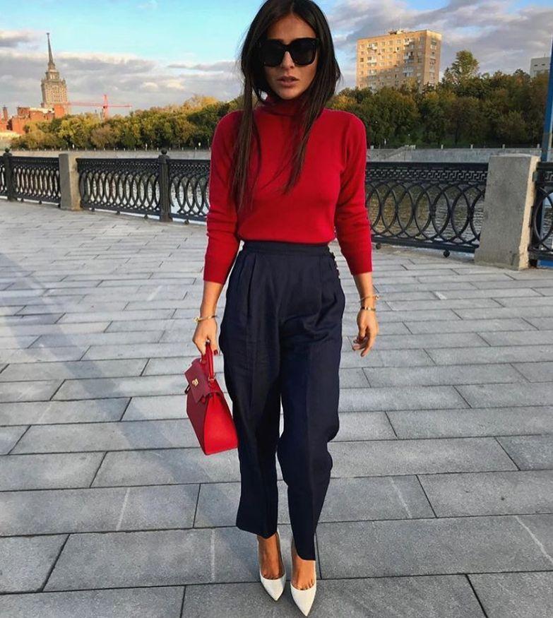 красива комбинация с панталони