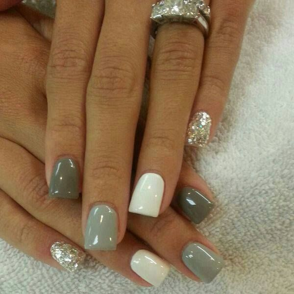 Quick simple nail designs for short nails: