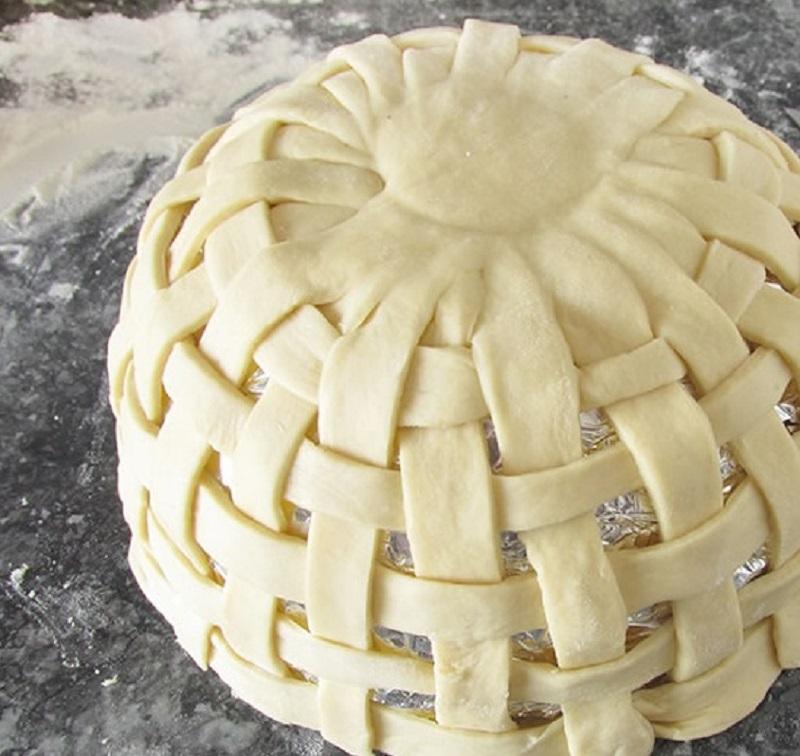 великденска кошница от тесто