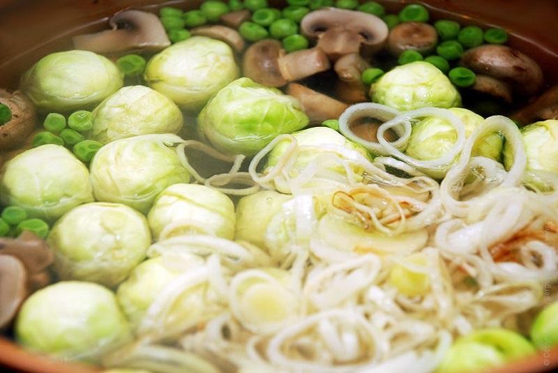нискомаслена зеленчукова супа