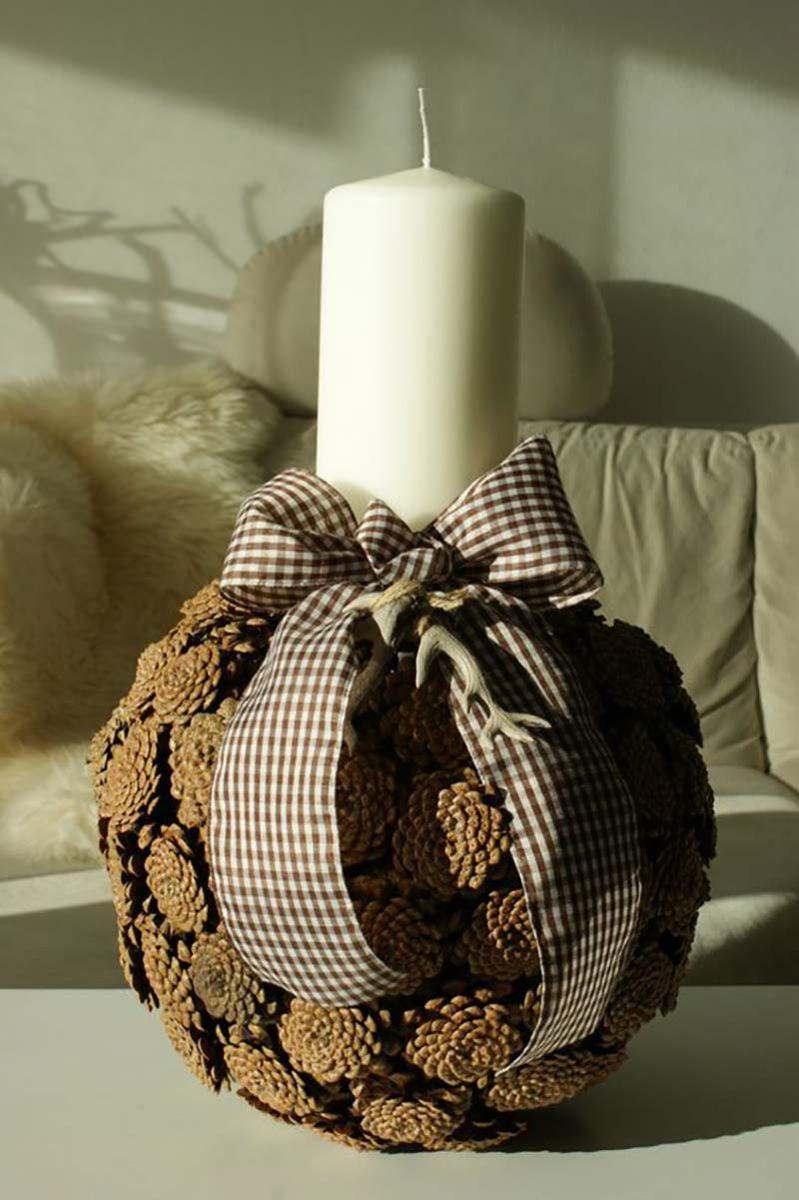 предмети, направени от шишарки