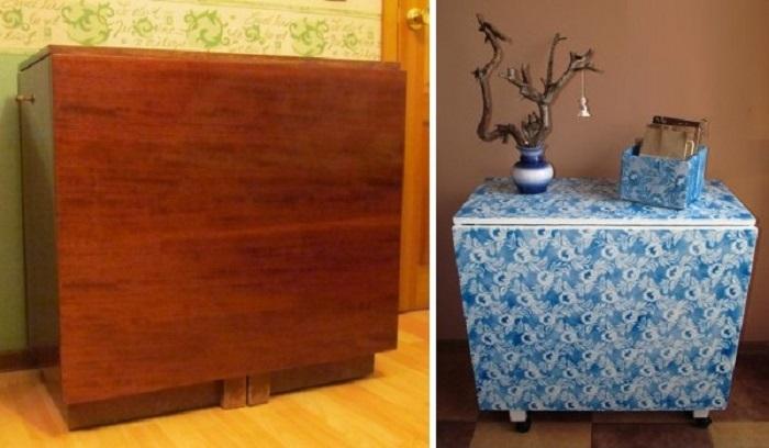 промяна на мебели