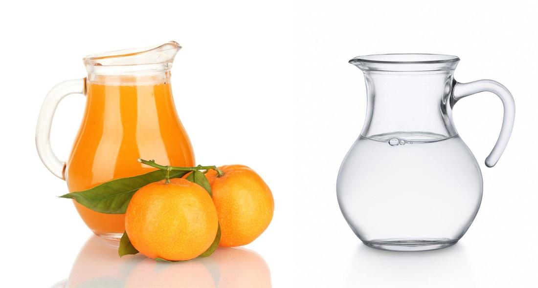 Приемане на портокалов сок