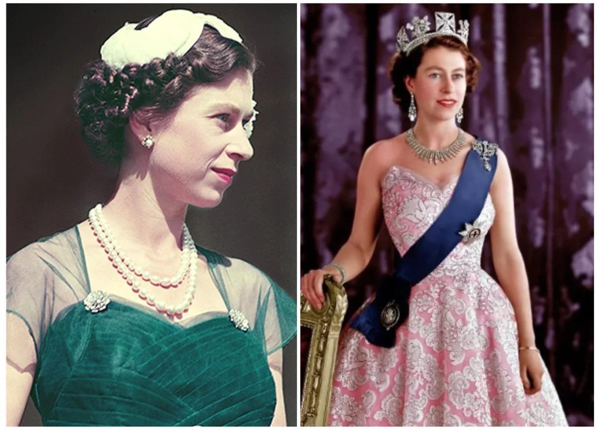 Елизабет Втора млада