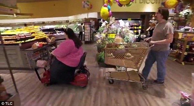 дебело момиче на пазар