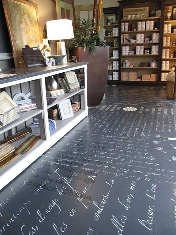 дизайн на пода в апартамента