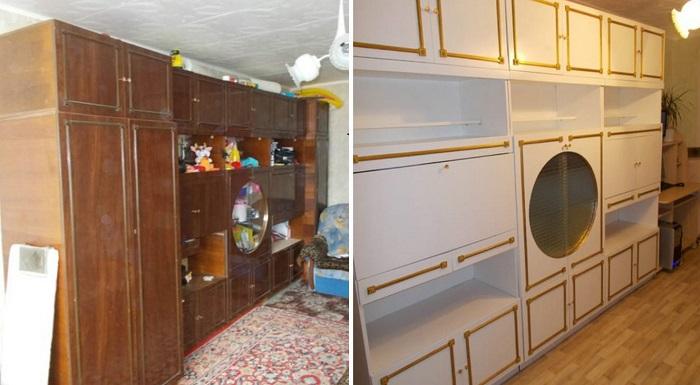 обновяване на мебели в стила на Прованс