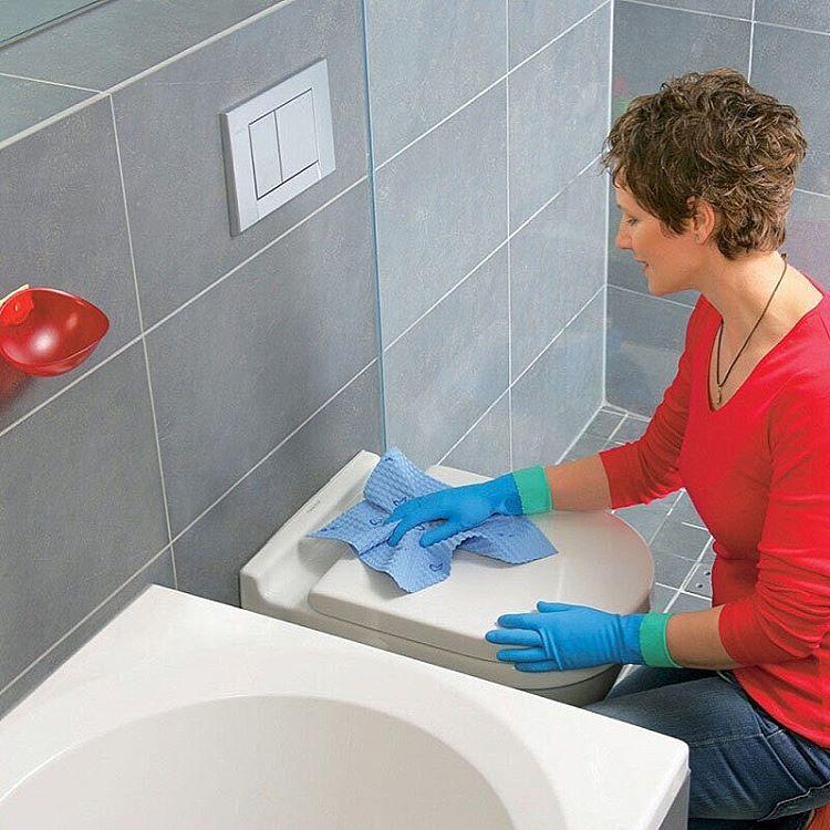 чистене баня