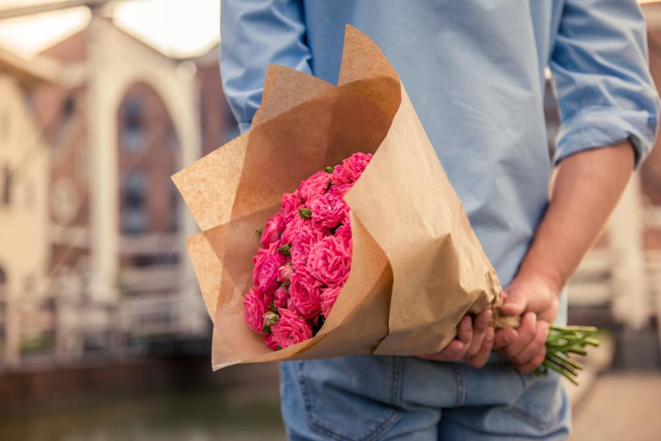 букет цветя
