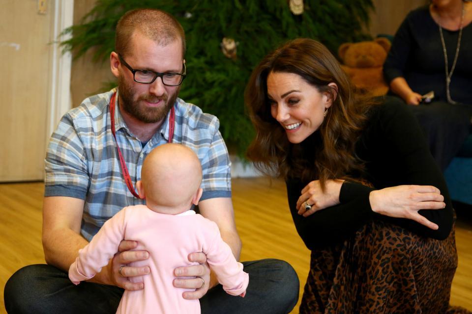 Кейт мидълтън бебе