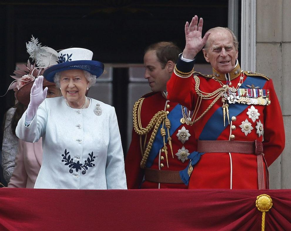 принц Филип и Елизабет