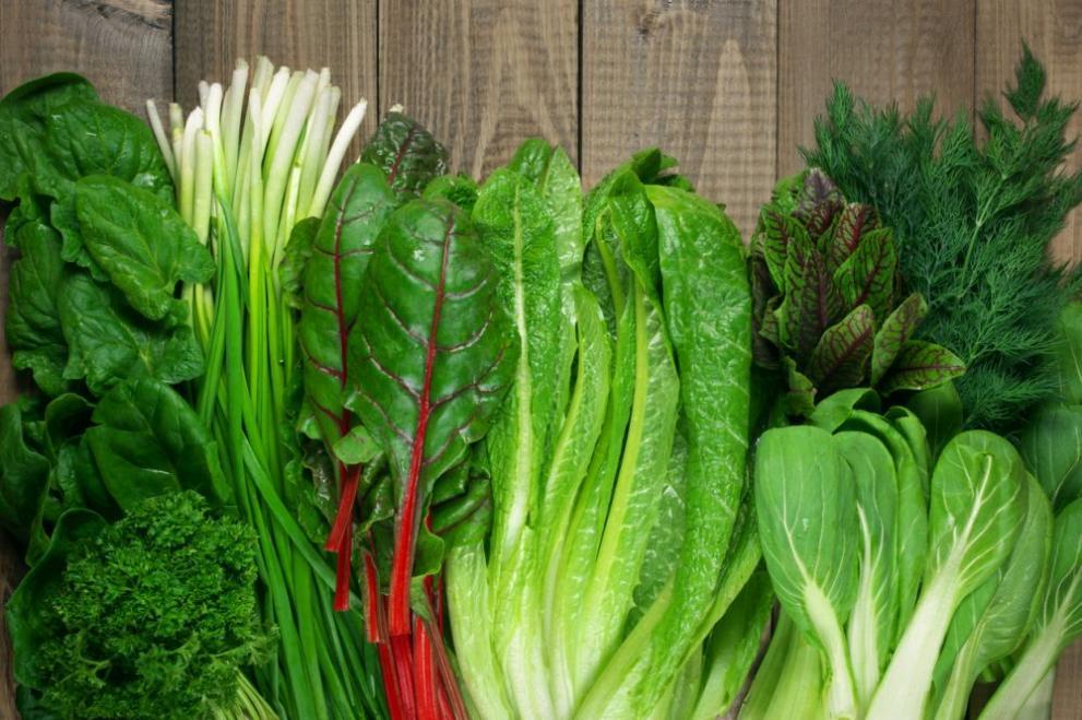 листни зеленчуци