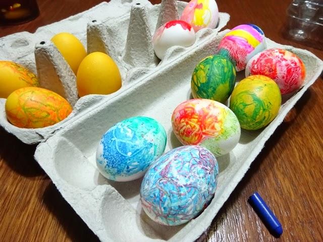 яйца писани с восък