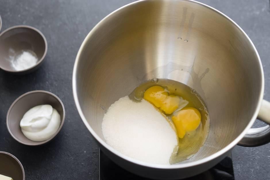 яйца и захар