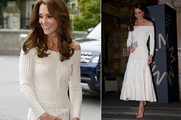 Катрин в бяла рокля