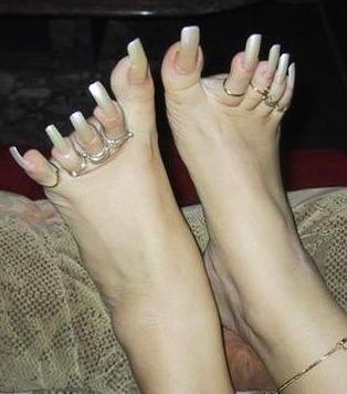 пръстени на краката