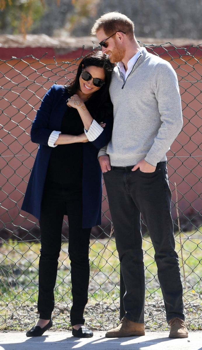 Меган Маркъл и принц Хари